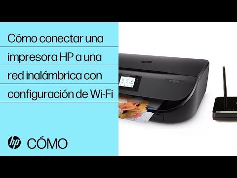 Cómo conectar una impresora HP a una red inalámbrica con configuración de Wi-Fi | HP Printers | HP