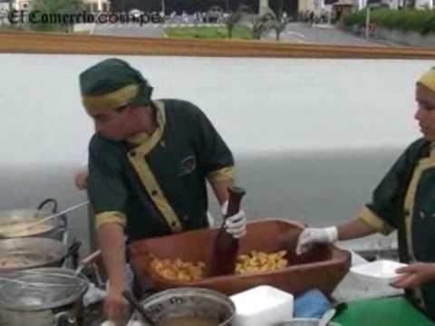 En el aniversario de Lima... las 7 maravillas gastronomicas presente!