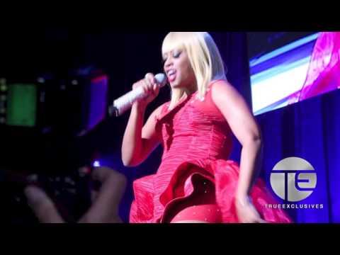 Trina Tributes Nicki Minaj at 2013 BMI Awards & Nicki Reacts (Full Performance)