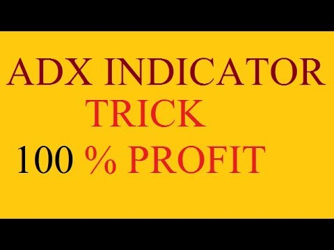 how to use adx indicator for day trading in hindi 2017
