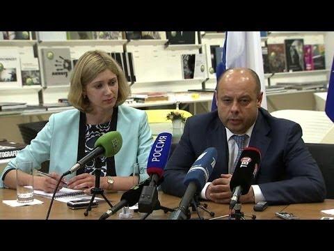Ukraine, Russia in crisis talks on gas, insurgency