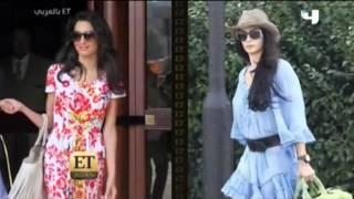 Amal Clooney fashion & style