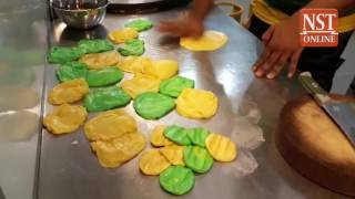 Yellow & green roti canai to celebrate Kedah's upcoming Malaysia Cup final appearance