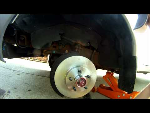 2001 Ford Ranger Brake Rotor and Wheel Bearing replacement 3.0 2wd