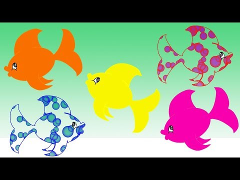 Bubbles Learn Colors With Fish For Children || Nursery Rhymes Collection For Kids thumbnail