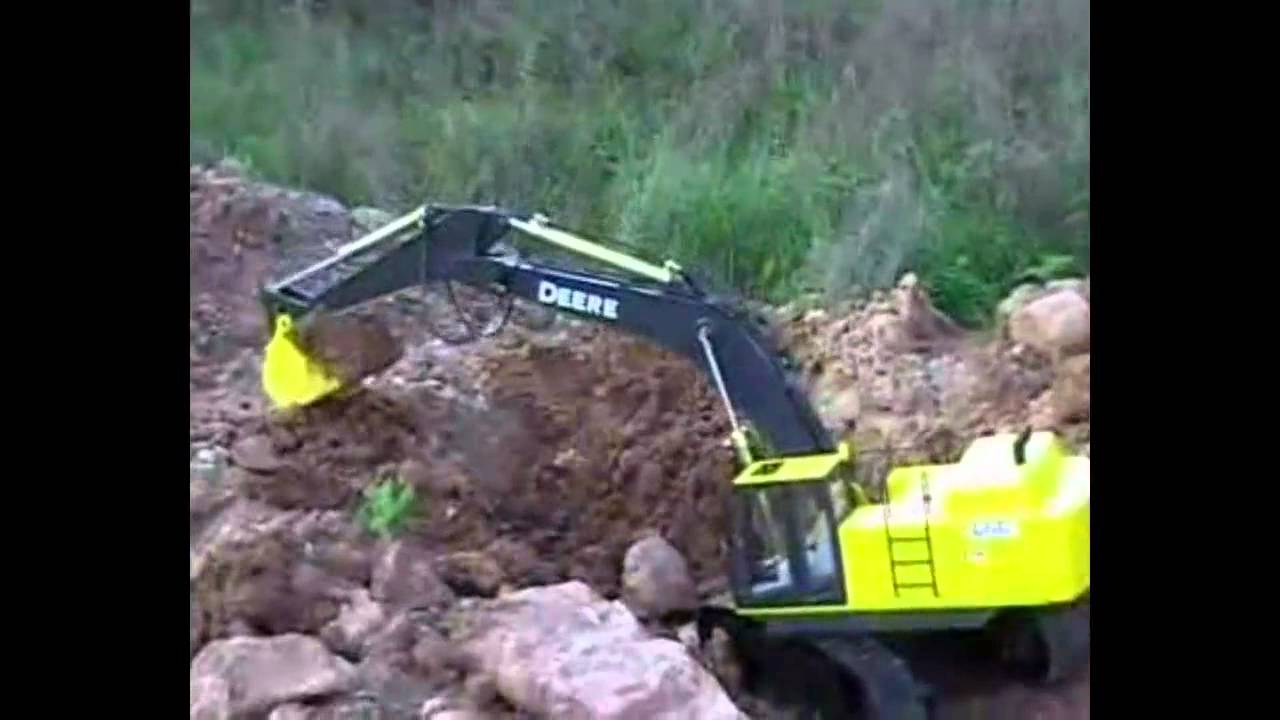 John Deere 450d Lc Excavator - Rc Construction Equipment