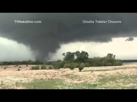 The OmahaTwisterChasers.net live stream team of Will Campbell, Brandon Herman, AJ Guida, Dan Castro, Robbie and Jeremy McGeehan captured the violent tornado that impacted Rice, McPherson and...