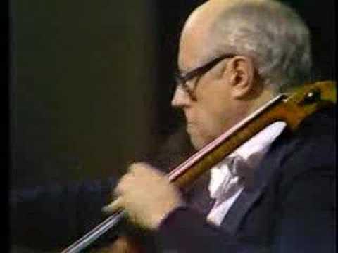 Dvorak Cello Concerto : Rostropovich Part 5