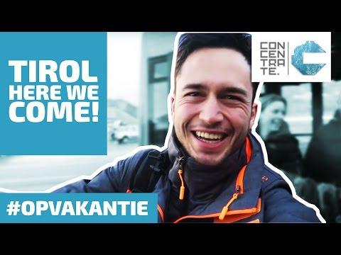 Van Schiphol naar Tirol #WINTERSPORT VLOG 1  - CONCENTRATE #OPVAKANTIE