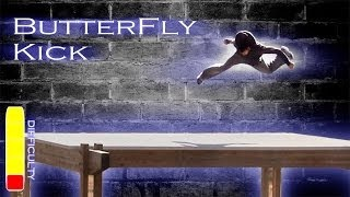 How To BUTTERFLY KICK - Free Running Tutorial