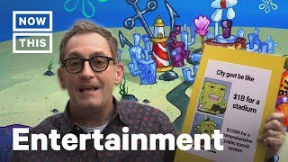 SpongeBob Memes Brought to Life by Tom Kenny | NowThis