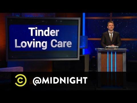 Maria Bamford, James Adomian, Eddie Pepitone - Tinder Loving Care - @midnight