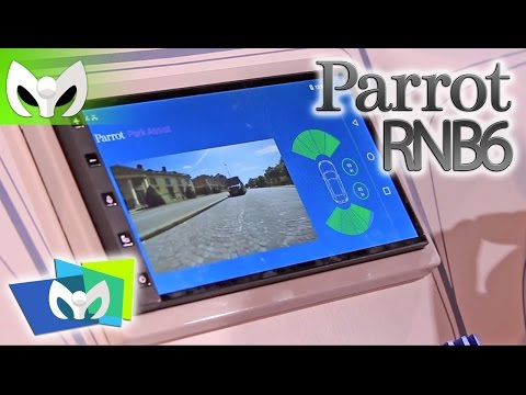 CARPLAY & Android AUTO JUNTOS! Parrot RNB 6 Sistema de Autos #CES2015