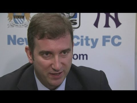 NEW YORK CITY FC - Manchester City and New York Yankees form MLS franchise