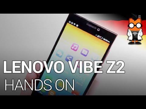 Lenovo Vibe Z2 5.5-inch Smartphone mit Snapdragon 410 im Hands on [Deutsch]
