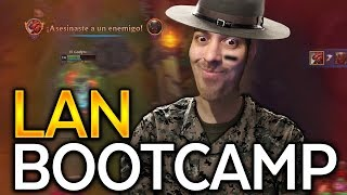 BOOTCAMPING IN LAN! | DOTDYR 25 MINUTE SOLO BARON! - Trick2G