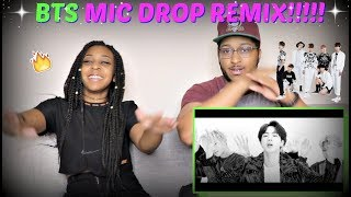 "Download Lagu IT'S LIT!!! | BTS ""MIC Drop"" (Steve Aoki Remix) Official Music Video REACTION!!! Gratis STAFABAND"