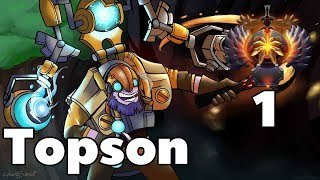 TOPSON Tinker Rank 1 Dota2 Gameplay