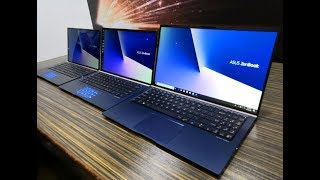ASUS Unveils World's Smallest Notebooks | ZenBook 13, 14, 15 Series Laptops | Variants, Top Features