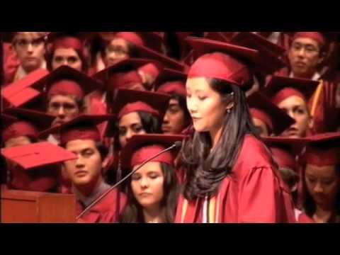 Cilla Chan (aka Priscilla Chan) Singapore American School Class of 2009 Graduation Speech