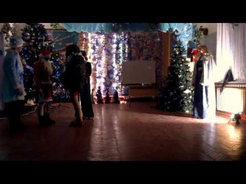 Новый год,  сценка,  11 класс