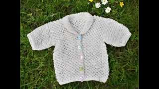 Right As Rainbow Baby Cardigan Pattern