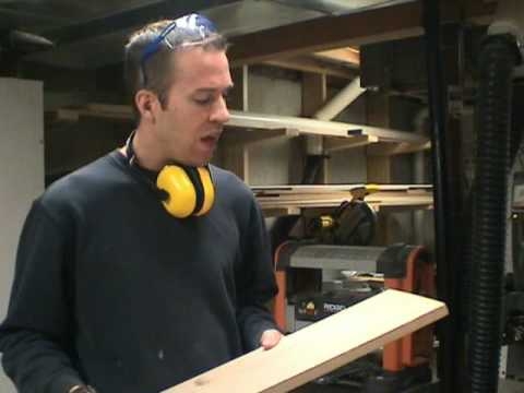 Part 2 (of 3) - This 26 minute woodworking video series illustrates a