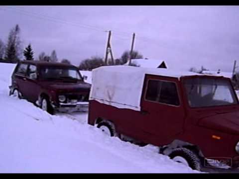 ЛуАЗ Тёлжевские снега-Рождество 2009