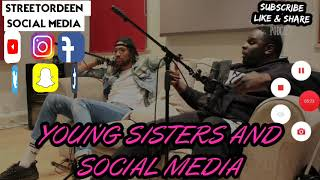 YOUNG SISTERS BECAREFUL ON SOCIAL MEDIA WITH BOYS