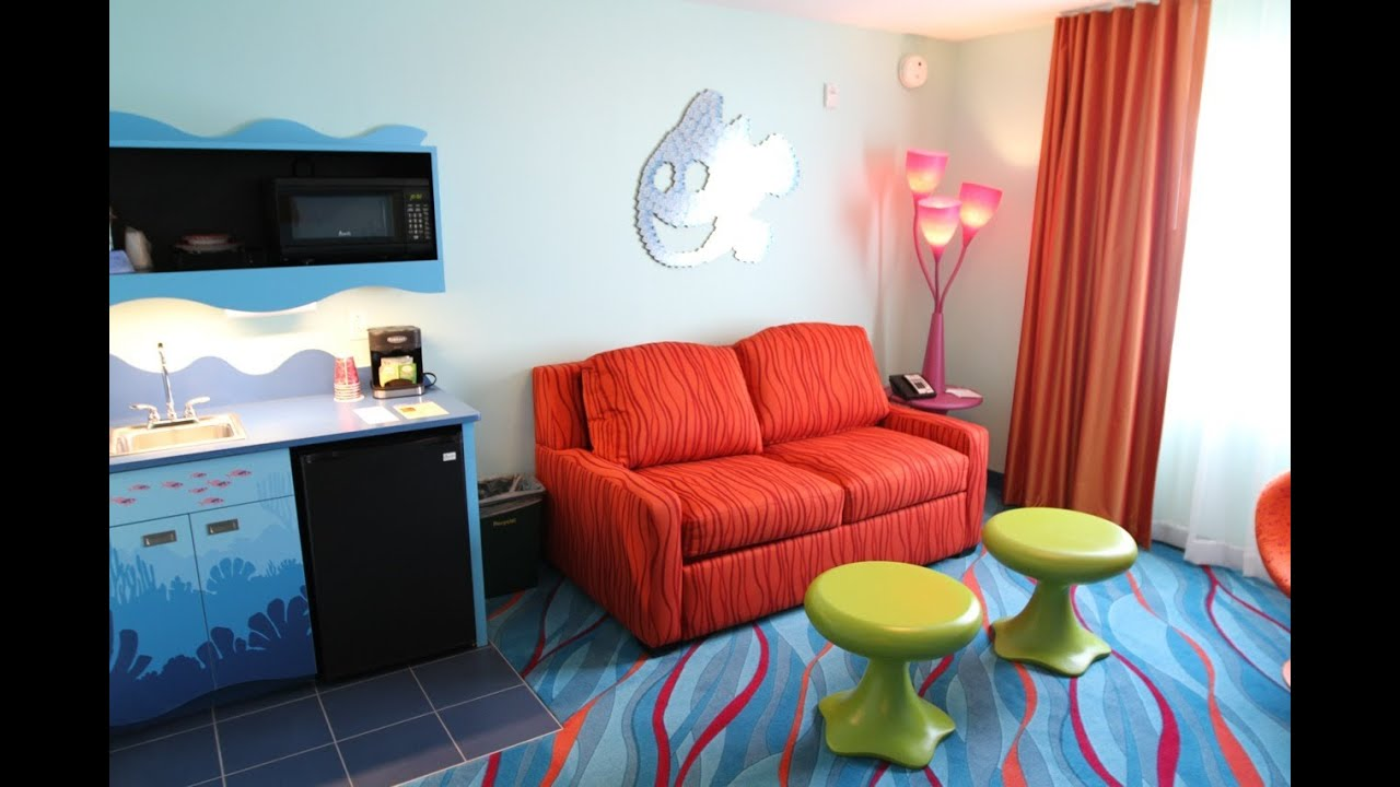 Finding Nemo Family Suites At Disney S Art Of Animation