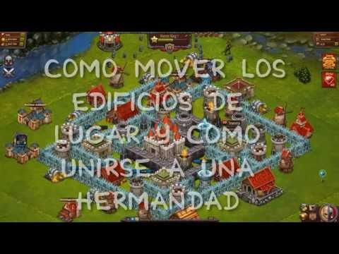 Throne Rush l Como mover edificios y unirse a una hermandad