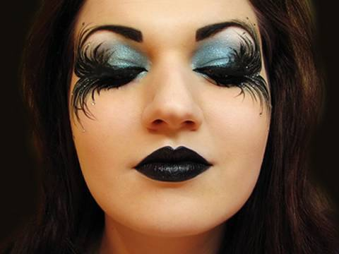 Fallen Angel Dark Fairy Makeup for Halloween (by MissChievous)