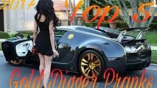 Top 5 Gold Digger Pranks! ( VitalyzdTv, JoshPalerLin, HoomanTV)Watch 2nd part also