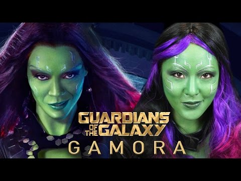 GAMORA | Guardians of The Galaxy Makeup Tutorial