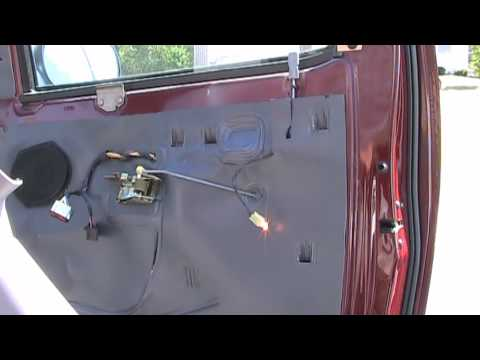 How to Remove Car Door Panel. Ford F-150 example. Super easy!