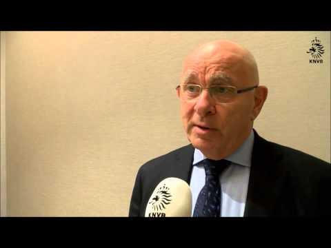 FIFA candidate for presidency Michael van Praag wants Blatter out. Van Praag explains candidacy.