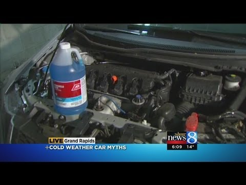 Cold temperature vehicle care tips
