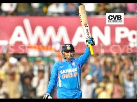 VIRENDER SEHWAG HITS 219 AGAINST WEST INDIES; HIGHEST SCORE...