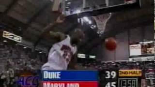 Keith Booth and Obinna Ekezie lead Maryland over Duke