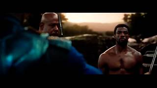 Killmonger threatens T'challa movie clip