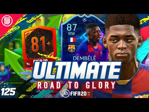 WOW!!! NEW PATCH!!! ULTIMATE RTG #125 - FIFA 20 Ultimate Team Road to Glory