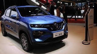 2020 Renault City K-ZE Electric CUV Debuts At Shanghai Auto Show