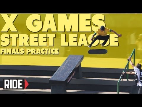 Street League at X Games Brazil 2013 -- Finals Practice with Pudwill, Nyjah, and More!