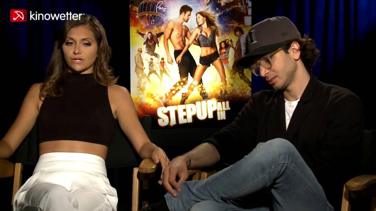 Interview Alyson Stoner & Adam G. Sevani STEP UP ALL IN ...