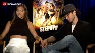 Interview Alyson Stoner & Adam G. Sevani STEP UP ALL IN