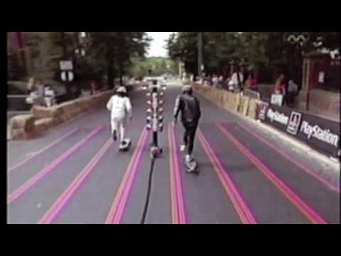 Gary Hardwick team TVS Downhill Skateboarding
