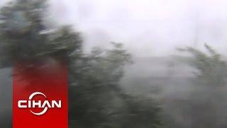 Sakarya'da Fırtına Dehşeti