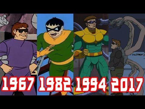Эволюция Доктора Осьминога все появления в фильмах и мультфильмах (1967-2017)