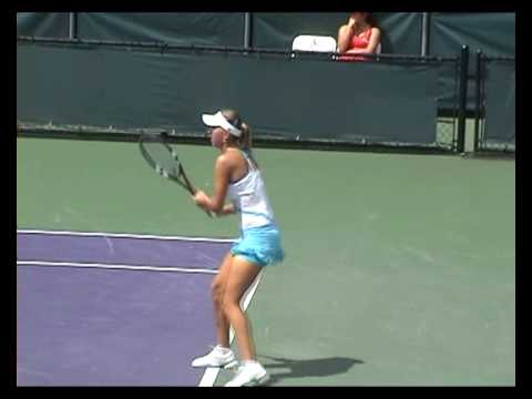 Elena Vesnina in Miami 2008 Video