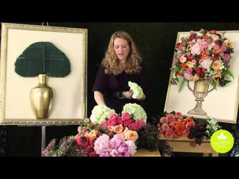 Inspired Floral Design With Beth O'Reilly: Framed Floral Sculpture